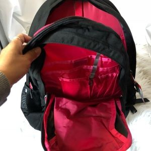 The North Face Bags - The North Face Jester Black/Red